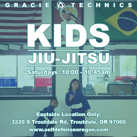 Kids & Youth Jiu-Jitsu Troutdale & Gresham Oregon